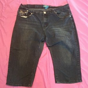 Dkin capri jeans